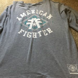 American fighter quarter sleeve